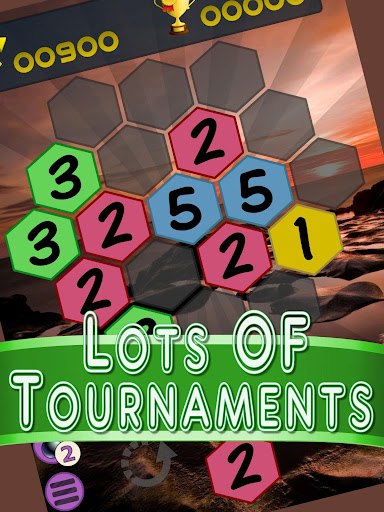 Get To 7, merge puzzle game - tournament edition.  screenshots 16