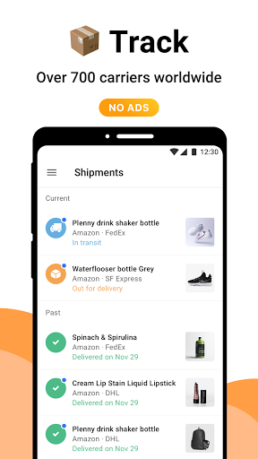AfterShip Package Tracker - Tracking Packages  screenshots 1