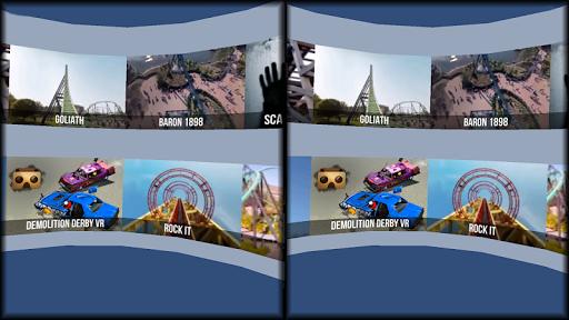 VR Thrills: Roller Coaster 360 (Cardboard Game) 2.1.7 Screenshots 14