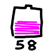 Graffiti Battery Meter [Widget