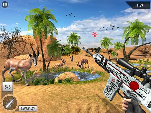 Wild Deer Hunt 2021: Animal Shooting Games apktram screenshots 9