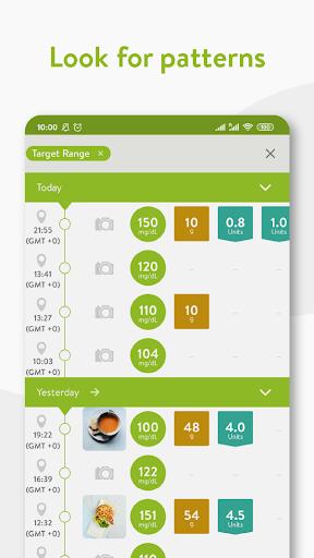 mySugr - Diabetes App & Blood Sugar Tracker apktram screenshots 4