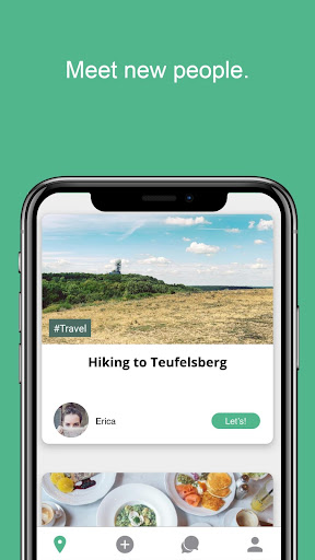 Let's App -  Friends, Date, Network  screenshots 2