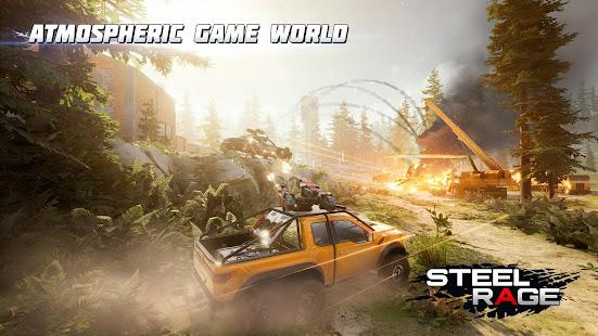 Steel Rage: Mech Cars PvP War, Twisted Battle 2021 apk