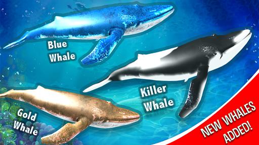 Blue Whale Simulator - Deep Ocean  screenshots 2
