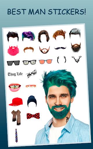 Men Makeup Photo Editor Handsome!ud83cudfc6 1.4.8 Screenshots 13