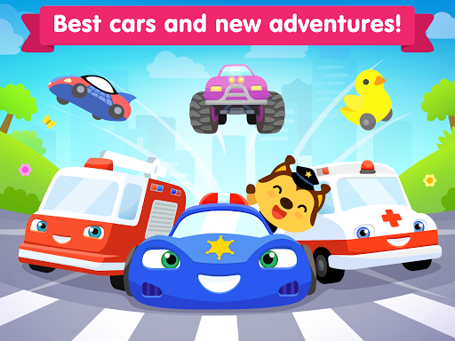 Car games for kids ~ toddlers game for 3 year olds 2.9.0 screenshots 5