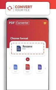 PDF Converter (doc ppt xls txt word png jpg wps) 192.0 MOD APK [ PREMIUM UNLOCKED] 2