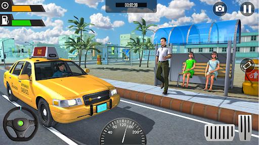 Modern Cab Taxi City Driving - Taxi Driving Games 1.1.5 screenshots 1