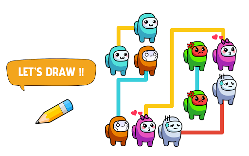 Draw One Part - Impostor Puzzle Brain Game apkpoly screenshots 7