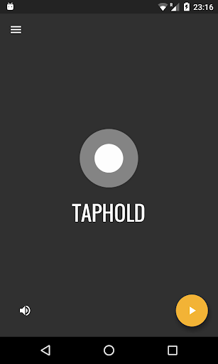 taphold - tap & hold (incl. real-time multiplayer) screenshot 1