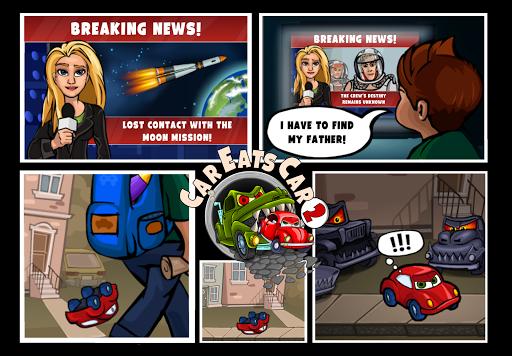 Car Eats Car 2 - Racing Game apktram screenshots 4