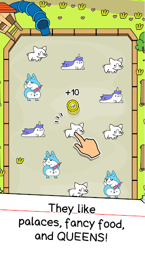 Corgi Evolution - Merge and Create Royal Dogs  screenshots 2