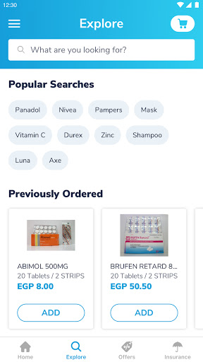 Yodawy - Pharmacy Delivery App 2.1.0 Screenshots 2