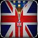 英国旗ジッパーロック - Androidアプリ
