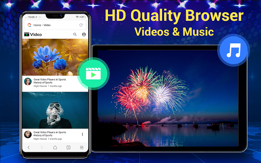 Web Browser & Fast Explorer android2mod screenshots 15