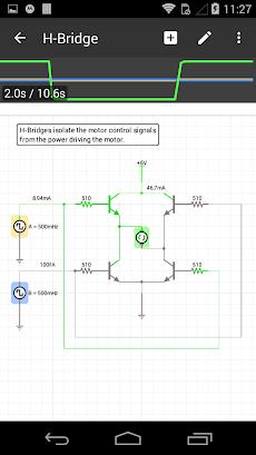 iCircuit Electronic Circuit Simulatorのおすすめ画像3