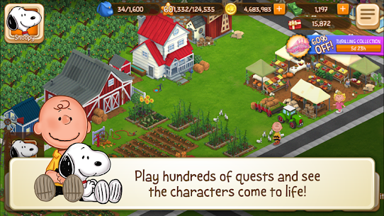 Snoopy's Town Tale – City Building Simulator Mod Apk (Unlimited Money) 3