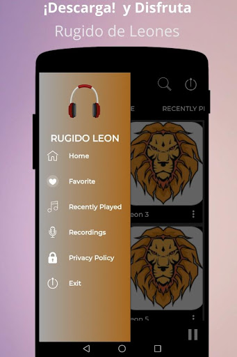 lion roar screenshot 1