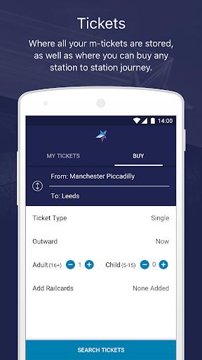 Train tickets, travel & times 4.21.0 screenshots 1