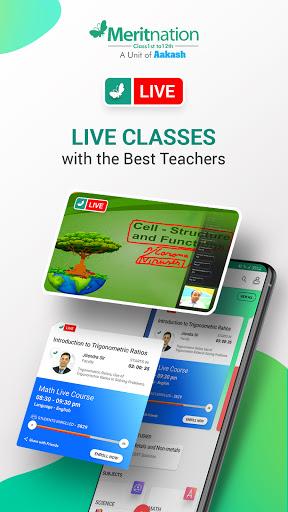 Meritnation: CBSE, ICSE & more (Free Live Classes) 8.5.119 screenshots 1