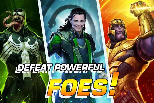 MARVEL Puzzle Quest: Join the Super Hero Battle! screenshots 3