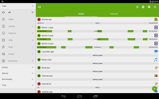 Advanced Download Manager & Torrent downloader screenshots 12