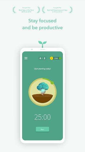 Download APK: Forest: Stay focused v4.41.0 [Pro]