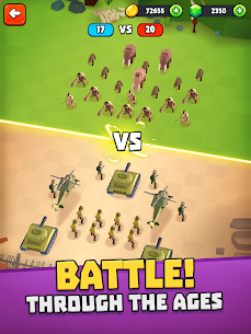 Battle Simulator: Warfare Mod Apk (Free purchases) 9
