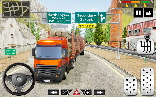 Cargo Delivery Truck Parking Simulator Games 2020 android2mod screenshots 5