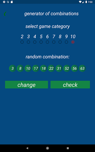 Keno FR combination statistics  screenshots 12