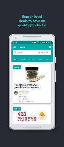 Weedmaps: Marijuana, Cannabis, CBD & Weed Delivery android2mod screenshots 4