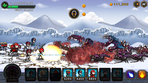 HERO WARS: Super Stickman Defense 1.1.0 screenshots 4