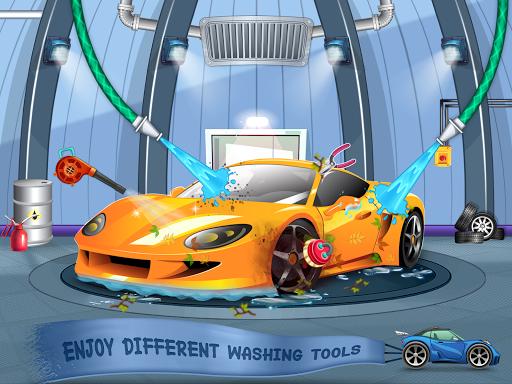 Kids Car Wash Service Auto Workshop Garage  screenshots 5