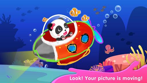 Baby Panda's Drawing Book - Painting for Kids screenshots 3
