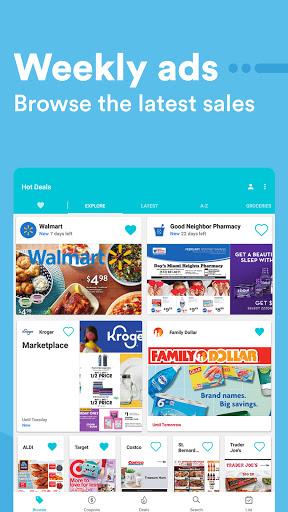 Flipp - Weekly Shopping modavailable screenshots 11