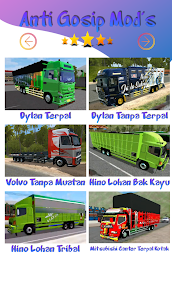 Mod Truck Canter Anti Gosip BUSSID 4