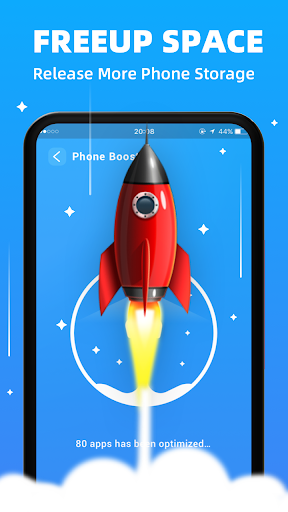 Fast Cleaner - Freeup phone space, junk& boost ram android2mod screenshots 3