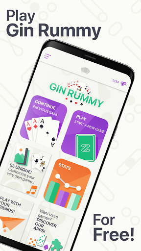 ZGA Gin Rummy screenshots 1
