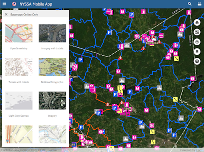 New York State Snowmobile Association Map 20-21 For Android 7