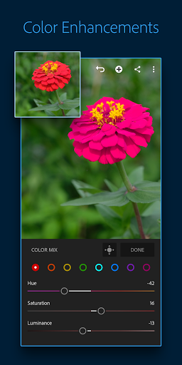 Adobe Lightroom - Photo Editor & Pro Camera  screen 2