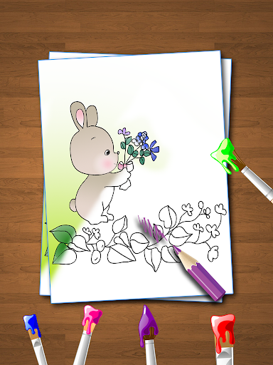 Coloring Book for Kids: Animal apkmr screenshots 3