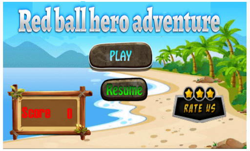 redball hero adventure apktram screenshots 1