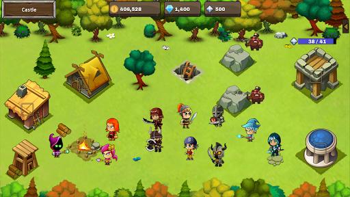 Final Castle Defence : Idle RPG apkslow screenshots 7