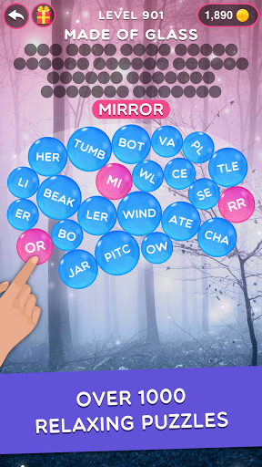 Magnetic Words - Search & Connect Word Game  screenshots 3