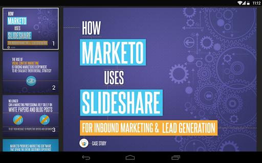 SlideShare  Screenshots 12