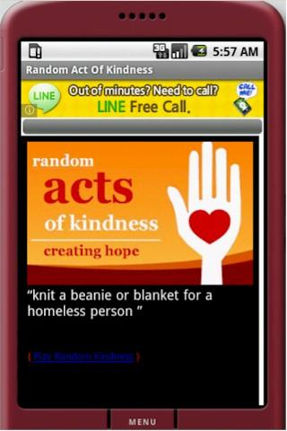 Random Act of Kindness For PC Windows (7, 8, 10, 10X) & Mac Computer Image Number- 6