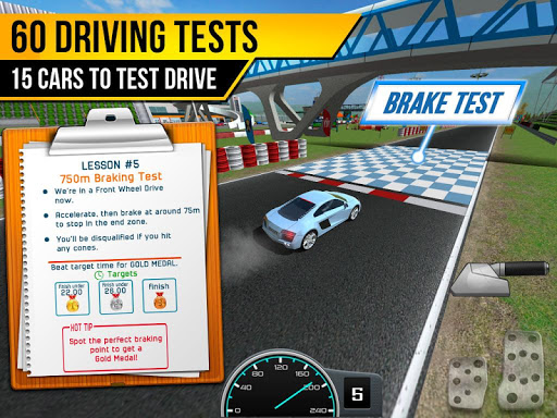 Race Driving License Test 2.1.2 screenshots 8