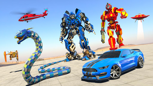 Anaconda Robot Car Games: Mega Robot Games 1.9 screenshots 1