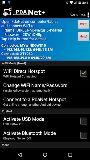 PdaNet+ 5.23 Screenshots 1